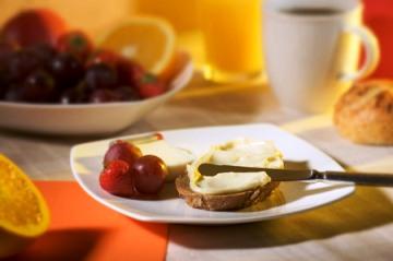 Foto snídaně na stole