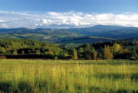 Šumava pohled do krajiny